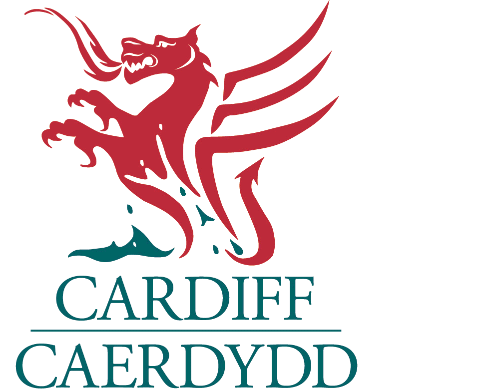 Cardiff Active Travel Network Map logo