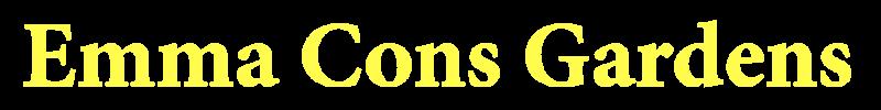Emma Cons Gardens logo