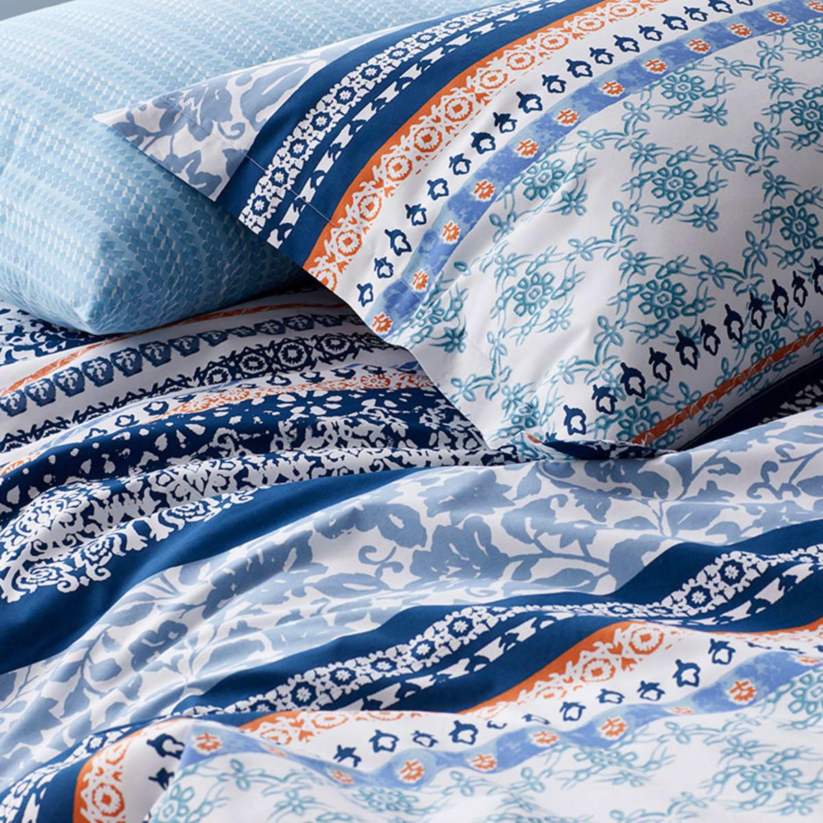 Rylie Cotton Percale Twin Xl Dorm Duvet Cover