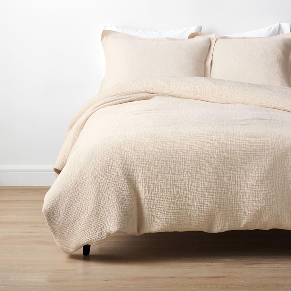 Weaver Organic Cotton Reversible Duvet Cover