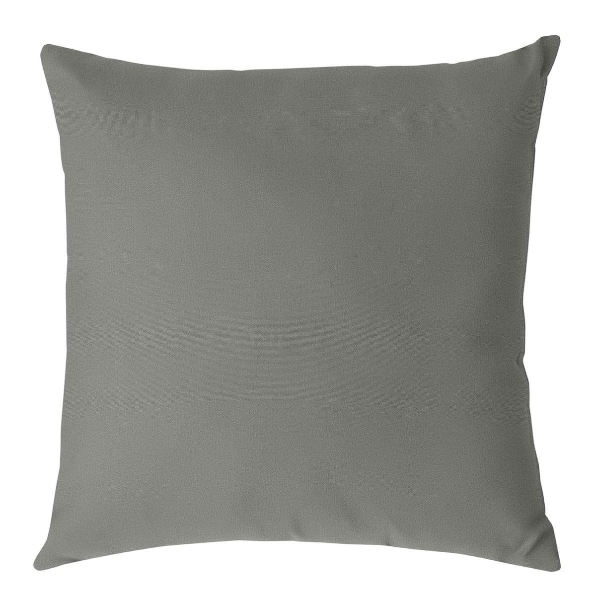 Sunbrella® Outdoor Toss Pillows   Gray