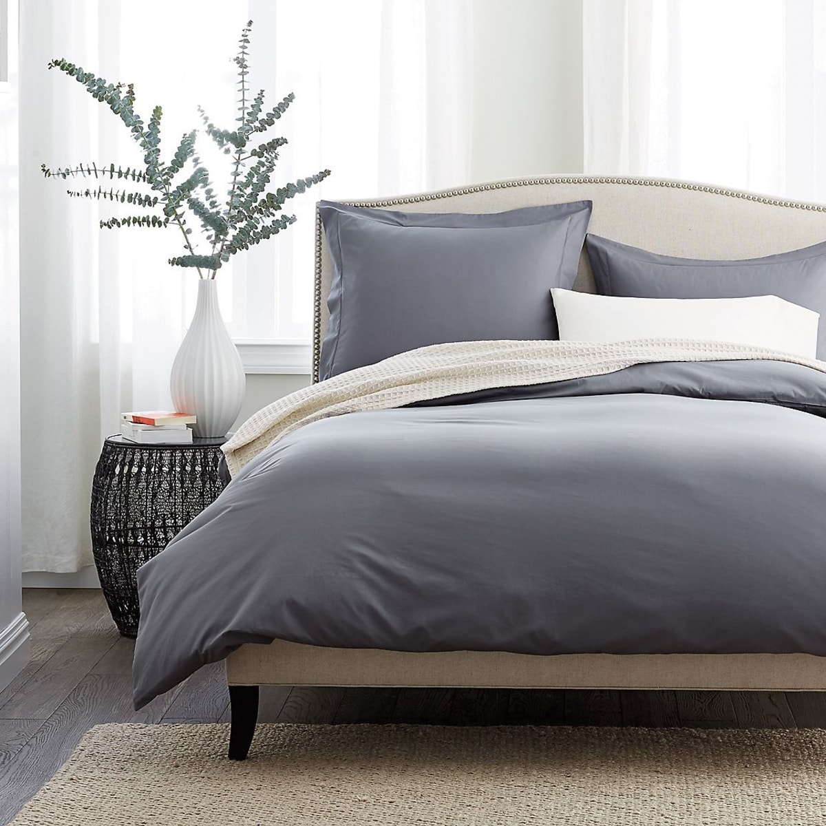 400 Thread Count Supima Percale Duvet Cover The Company Store