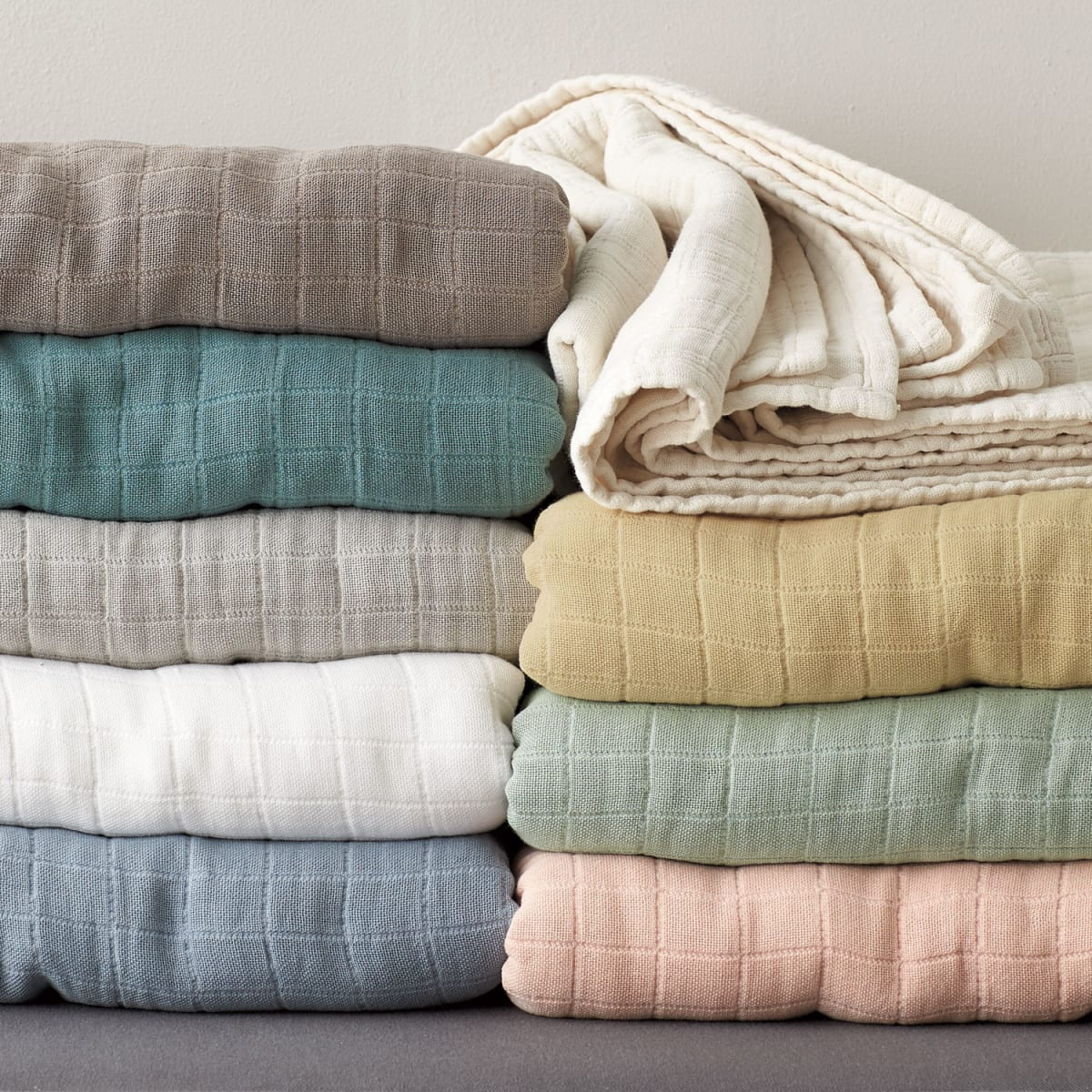Lightweight Gossamer Cotton Blanket
