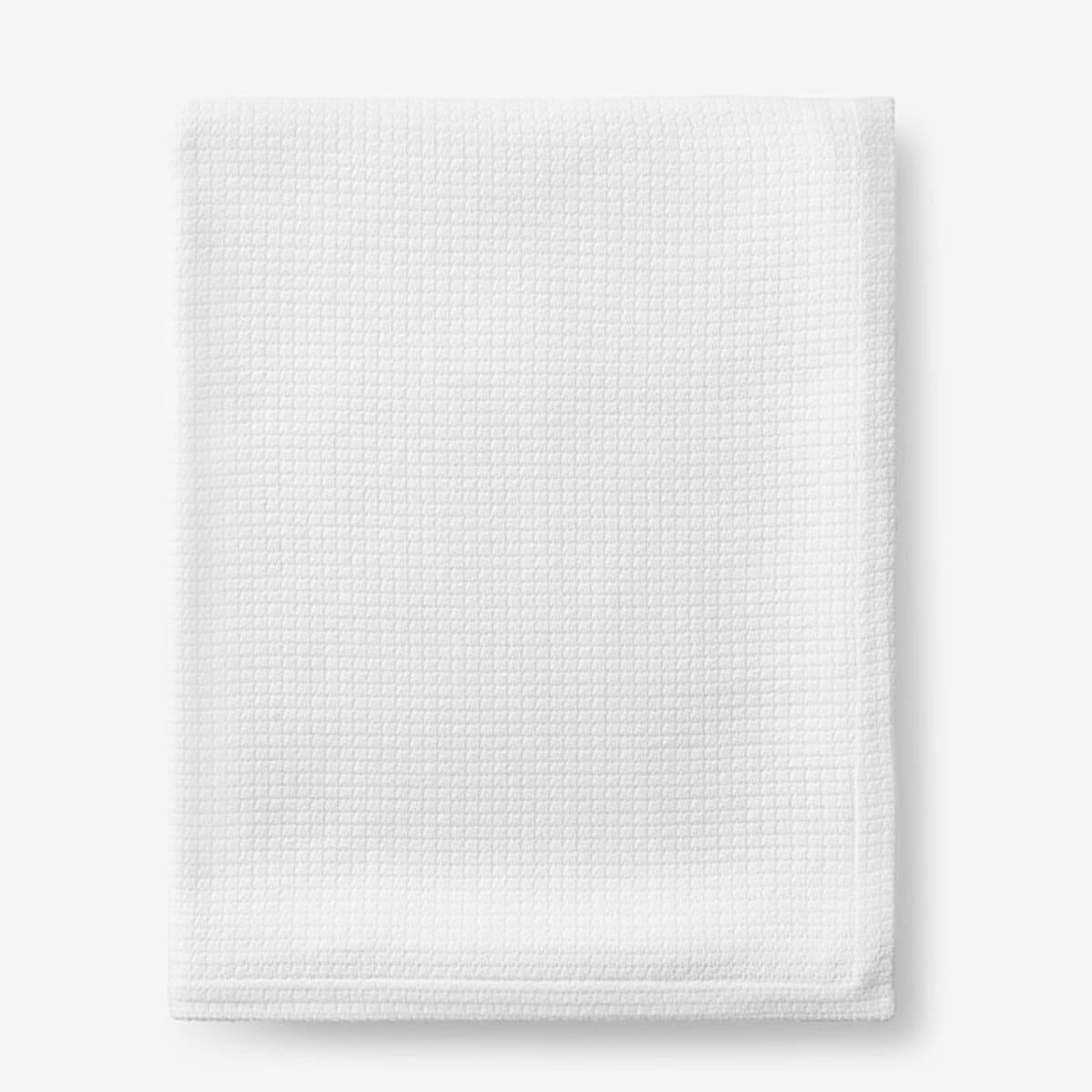 Textured Cotton Weave Blanket