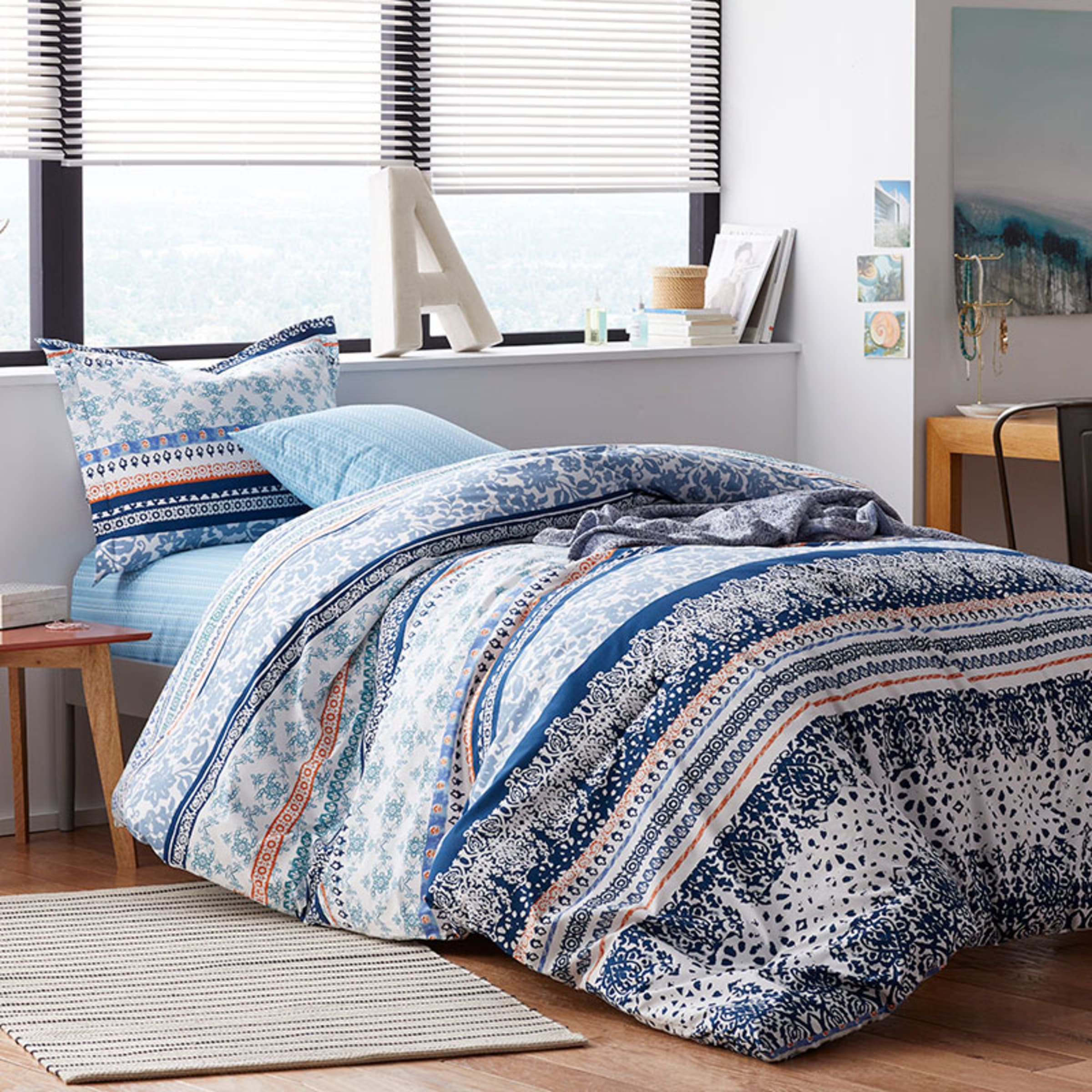 Rylie Cotton Percale Twin Xl Dorm Comforter