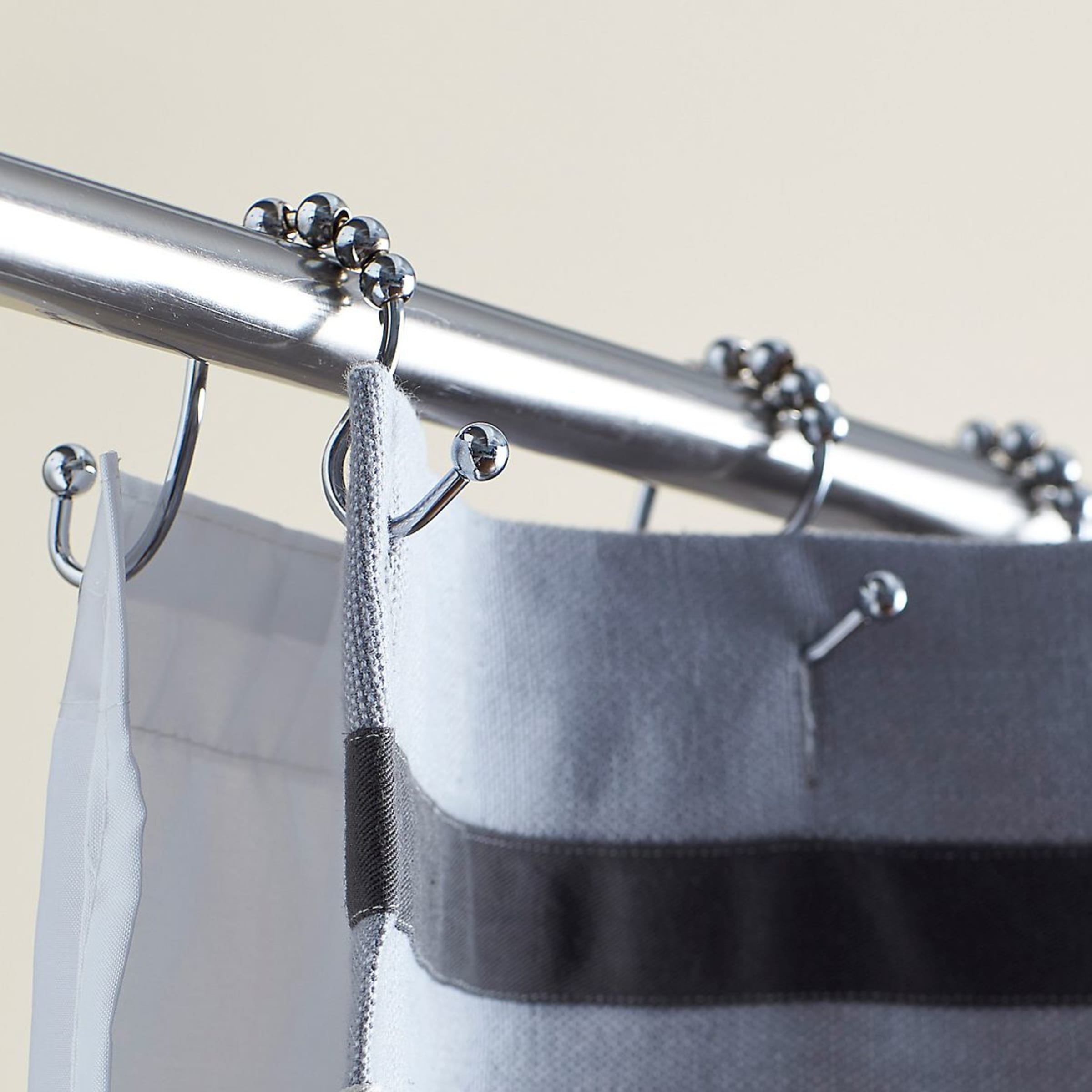 Double Roller Shower Curtain Hooks The Company Store