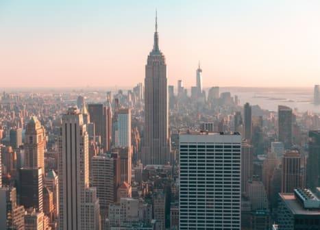 seguro viagem estados unidos - foto aérea de nova york