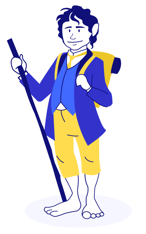 personagem do filme o hobbit - seguro viagem oceania