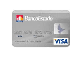 Banco Estado Visa Logo