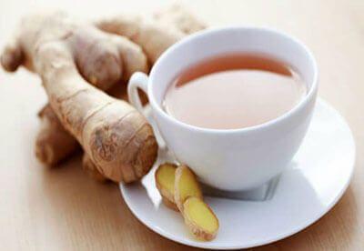 remédio caseiro para tosse com chá de gengibre