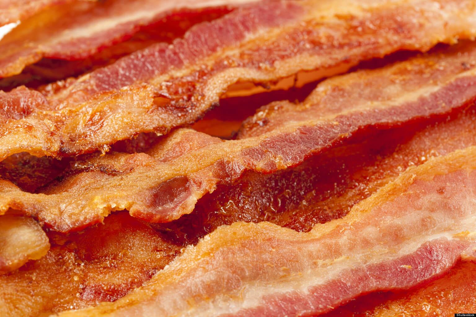 Bacon é saudavel assim como o abacate