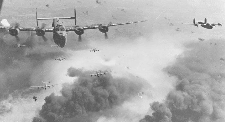 Aviões alemães bombardeando inimigos. Nasce o mito onde se diz que comer muita cenoura aumenta a visão noturna.