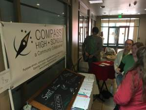 Compass at the Farmers Market