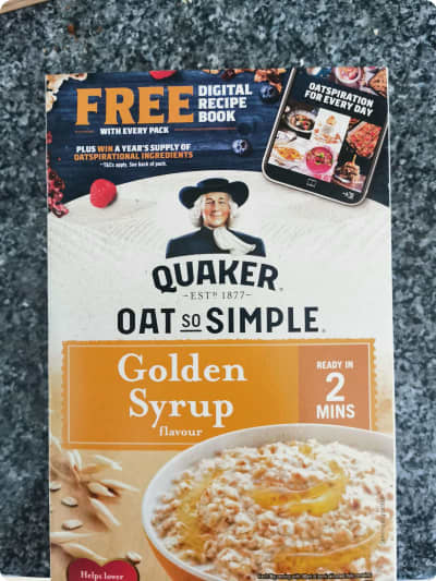 Quaker Oats Prize Draw Pack