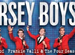 Win 1 of 25 double passes to Jersey Boys