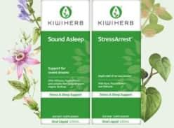 Win 1 of 4 Kiwiherb Stress and Sleep Packs