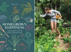 Win 1 of 2 copies of Homegrown Happiness by Elien Lewis