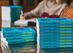 Win 1 of 2 signed copies of The Raffles Affair by Vicki Virtue