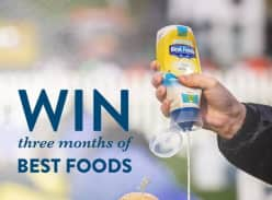 Win 1 of 2 three-month supplies of Best Foods Mayo Lite
