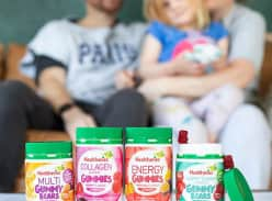 Win 1 of 3 Healtheries Gummies Prize Packs
