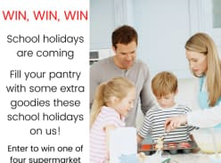 Win 1 of 4 $150 supermarket vouchers
