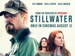Win 1 of 5 double movie passes to Stillwat