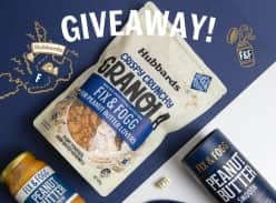 Win a delicious prize pack, including a bag of Hubbards!