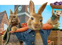 Win a family pass to see Peter Rabbit 2