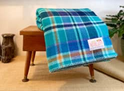 Win a funky wool blanket