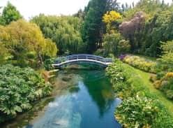 Win a glorious weekend at Rapaura Springs Garden Marlborough