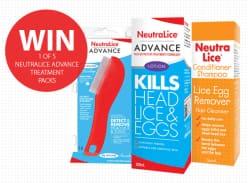 Win a NeutraLice Advance Treatment Pack