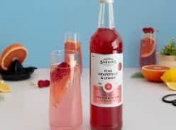 Win a Pink Grapefruit & Lemon Premium Mixer Soda Syrup