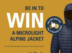Win a Rab Microlight Alpine Jacket