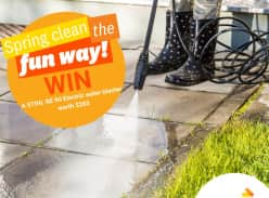 Win a STIHL RE 90 Electric Water Blaster