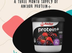Win a three month supply of Anchor Protein +