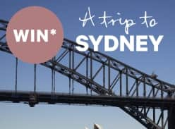 Win a trip to Sydney