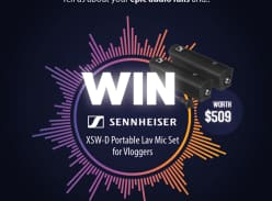Win a vlogger's ultimate package