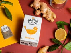 Win a year's supply of Higher Living Tea