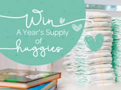 Win a Year's Supply of Huggies Nappies