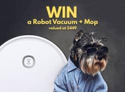 Win an Ecovacs Deebot U2 Robot Vacuum+Mop