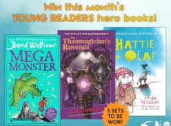 Win August's Collection of HarperCollins Young Readers Hero Books