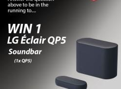Win LG Eclair QP5 Soundbar