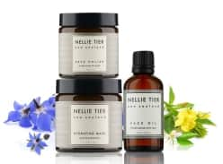 Win! Nellie Tier Face Polish, Hydrating Mask and Face Oil