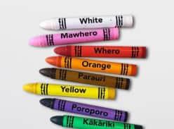 Win Te Reo Crayon Set