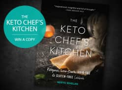 Win The Keto Chef's Kitchen Cookbook