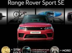 Win Range Rover Sport + Gold + Fuel + Gift Card