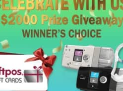Win $2,000 in EFTPOS Gift Cards or a ResMed AirSense 10 AutoSet & Mask Package