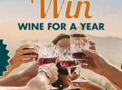 Win wine for a year!