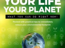 Win 1 of 6 copies of Your Life Your Planet