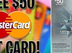 Win a $50 Mastercard Gift Card